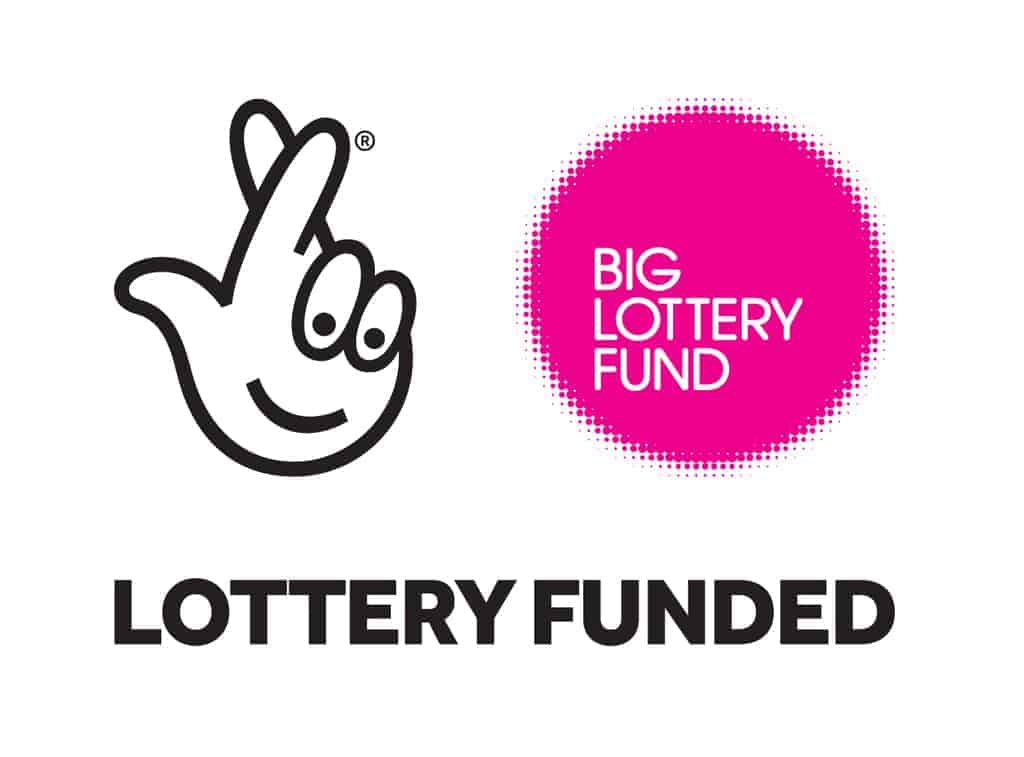 Big Lottery Fund logo - Our supporters
