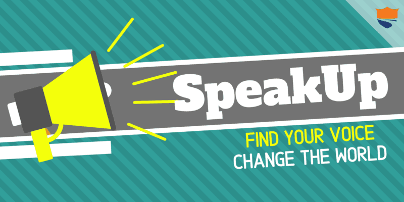 SpeakUp: Find Your Voice, Change The World!